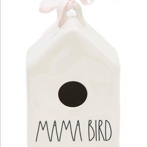 """Rae Dunn """"Mama Bird"""" bird house"""